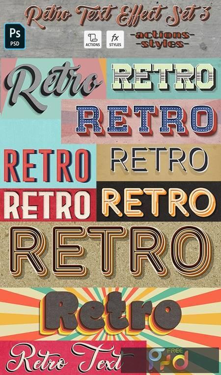 Retro Text Effect Set 3- 10 Photoshop Different Styles 29621607 1
