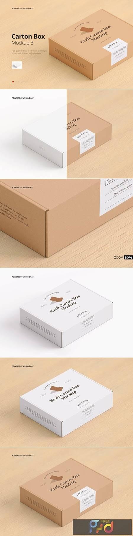 Mailing Carton Box Mockup 3 QJFPJ9V 1