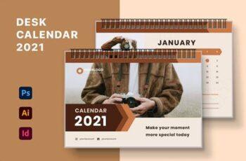 Desk Calendar 2021 BZ5TCZ3 2