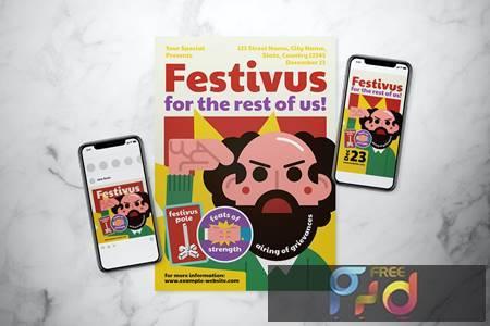 Festivus Flyer Set KFG5FTN 1