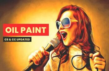 Premium Sharpen Oil Paint Action 5521206 4