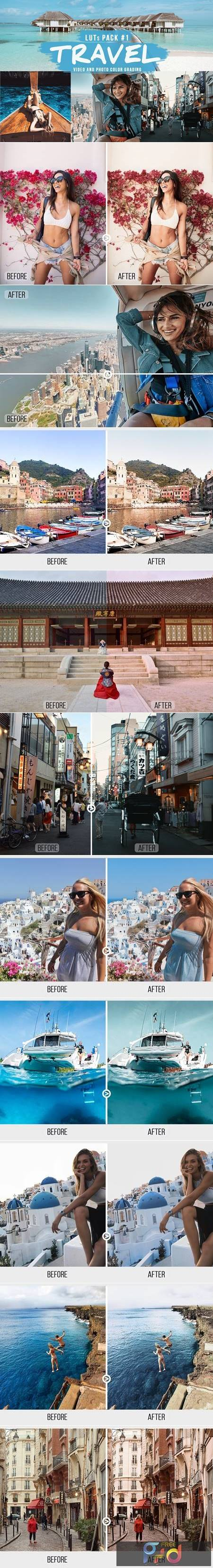 TRAVEL LUTs Pack #1 5460166 1