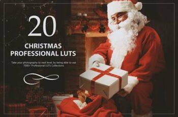 20 Christmas LUTs Pack V5XMNXA 3