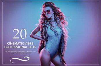 20 Cinematic Vibes LUTs Pack C3SPATV 16