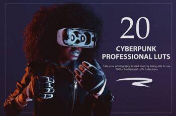 20 Cyberpunk LUTs Pack S7JANGE 15