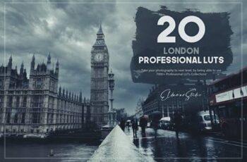 20 London LUTs Pack UXVCVMG 5