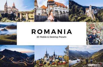 20 Romania Lightroom Presets & LUTs TUNY636 6