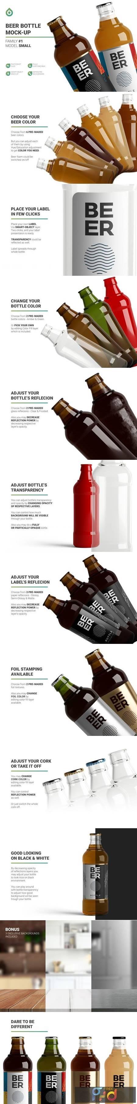 Beer Bottle Mockup 4998891 1