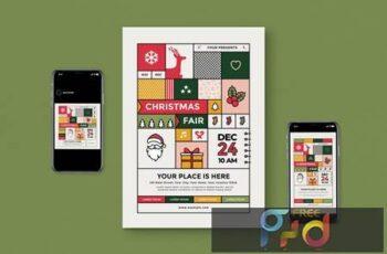 Christmas Fair Flyer Pack CHPD7AY 13
