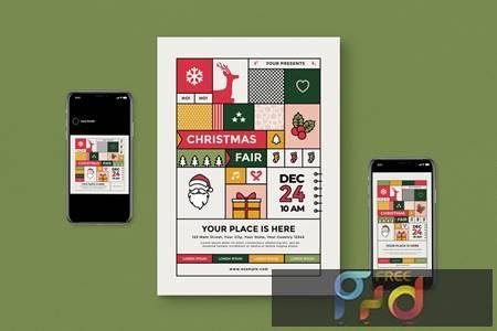 Christmas Fair Flyer Pack CHPD7AY 1