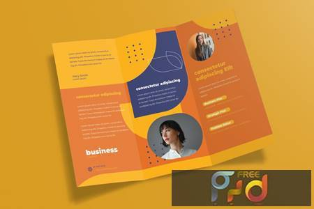 Corporate Trifold Brochure 54SB2HV 1