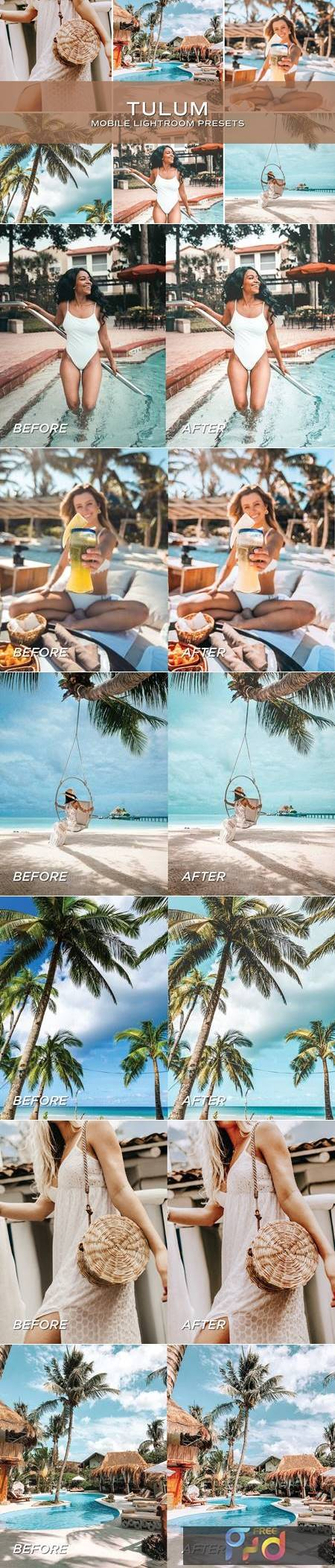 5 Tulum Lightroom Presets 5701236 1