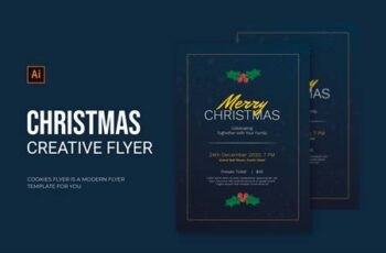 Snow Christmas - Flyer DZ8BW9H 4