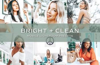 5 Bright and Clean Lightroom Presets 5701422 2