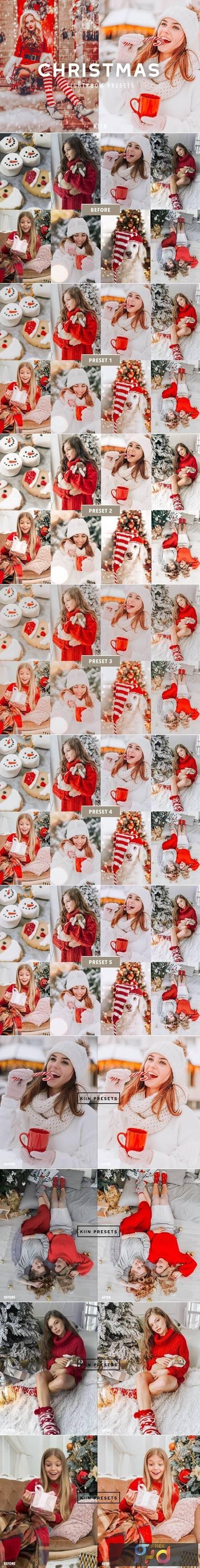5 CHRISTMAS LIGHTROOM PRESETS 5626137 1