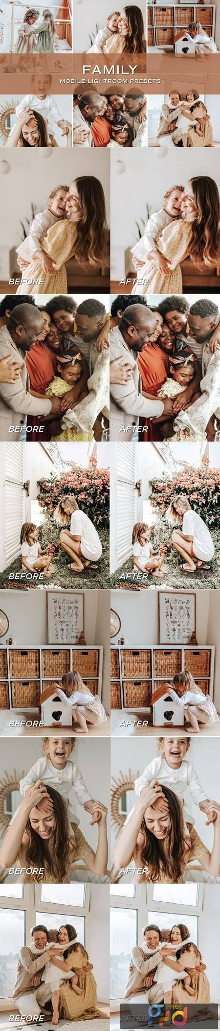 5 Family Lightroom Presets 5701423 1