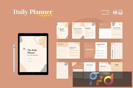 Daily Planner Q8NBAM7 1
