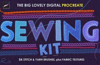 Procreate Sewing Brushes 5684796 4