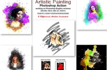 Artistic Painting Photoshop Action 5429287 3
