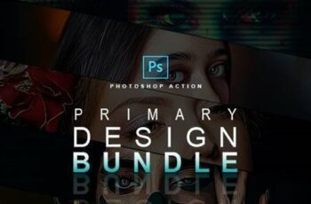 Primary Design Bundle - Photoshop Actions 29403470 3