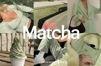 Lightroom Preset - Matcha Latte Theme 4973310 4