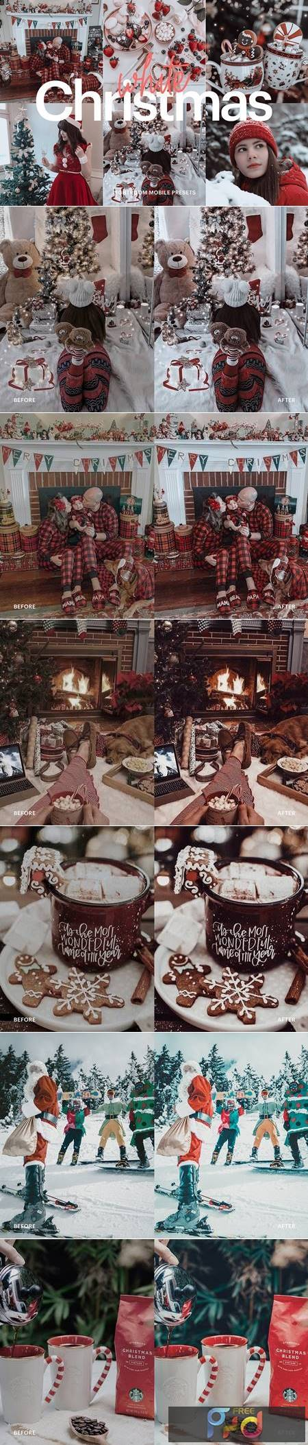 Lightroom Preset - White Christmas 4976207 1