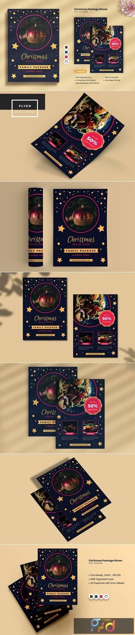 Christmas Eve Package Dinner Flyer 4FVZ9V9 1