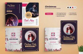 Christmas Party Bifold Brochure ZLARANJ 2
