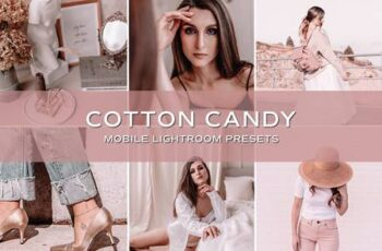 5 Cotton Candy Pink Lightroom Preset 5701534 4