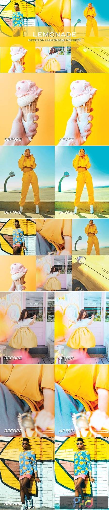 5 Yellow Lightroom Presets 5701598 1