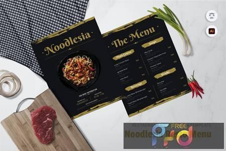 Noodlesia Restaurant Menu B6KHSZW 1