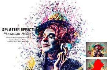 Splatter Effect Photoshop Action 5409262 8