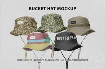 Bucket Hat Mockup 5661005 9