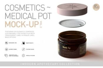 Cosmetic - Medical Pot Mock-Up Vol.2 5631853 5