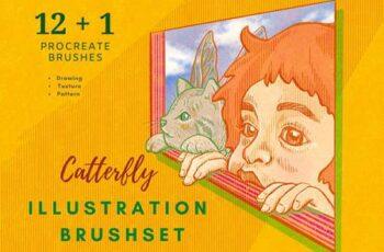 Procreate Illustration Brushes Vol 1 5503319 2