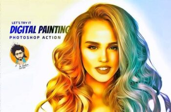 Digital Painting Photoshop Action 5649195 15