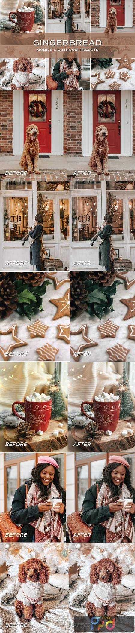 5 Gingerbread Lightroom Presets 5701797 1