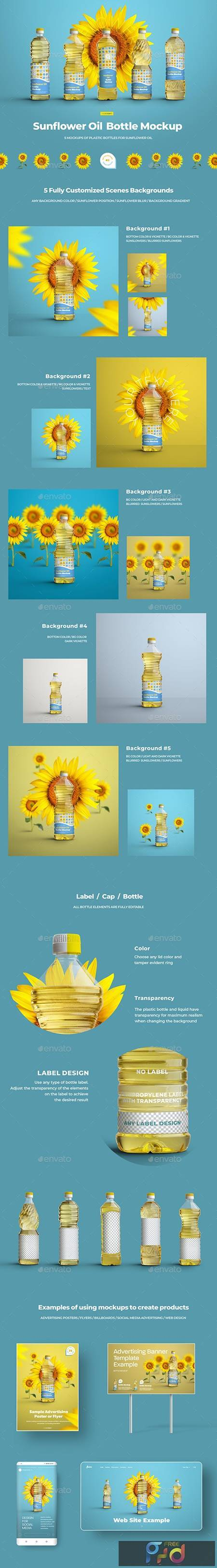 Mockups Plastic Sunflower Oil Bottles 29741146 1