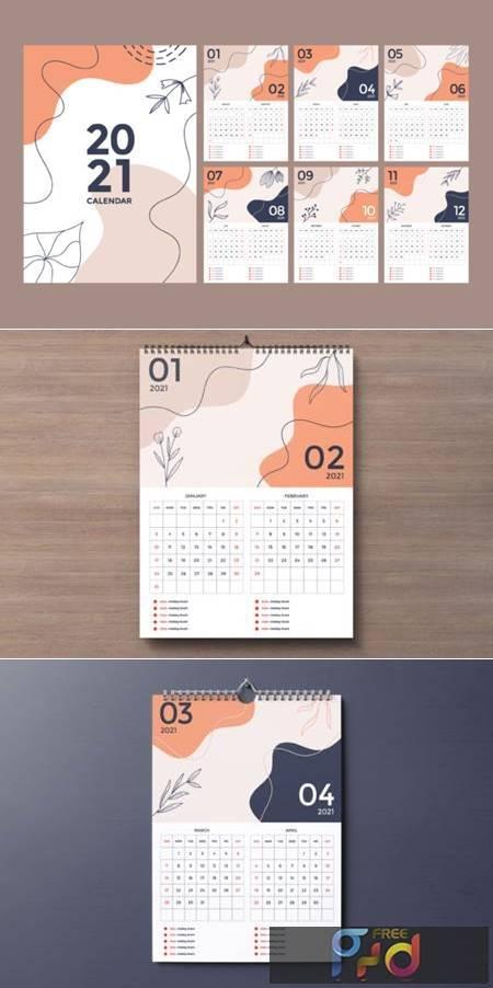 Wall Calendar 2021 Design 6980521 1