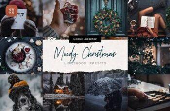 4 Moody Christmas Presets Pack 5679586 8