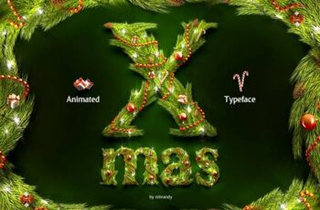 Christmas Animated Typeface 4164004 7