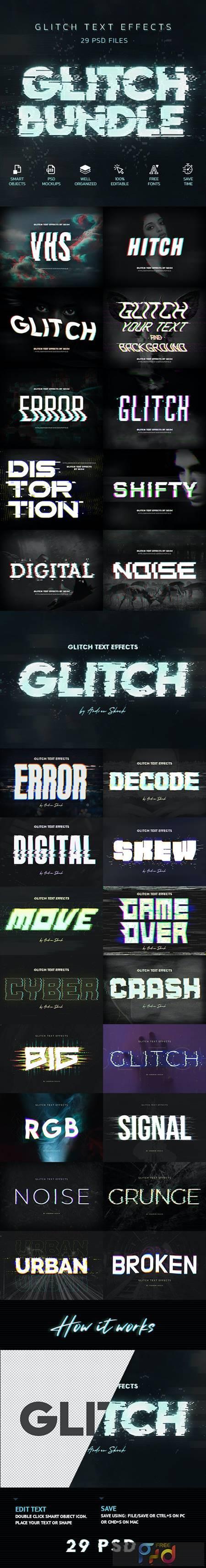 Glitch Effects Bundle 29750877 1
