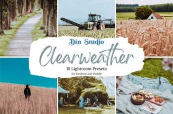 Clear Weather Lightroom Presets 5480309 7