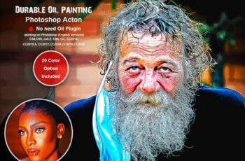 Durable Oil Painting PS Action 5475013 11