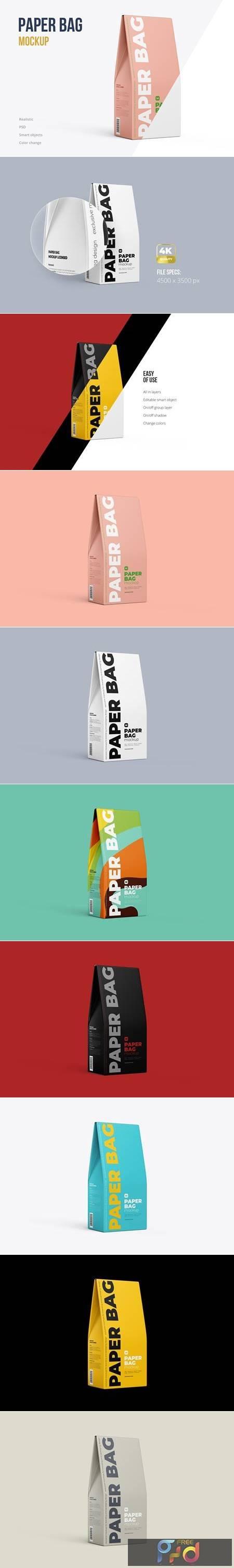 Paper Bag Mockup Half Side view 5225199 1