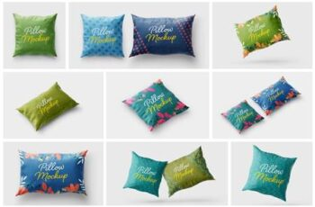 Pillow Cover Mockup Set - Textile 5715540 7