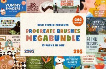 Procreate Brushes Megabundle 5177864 1