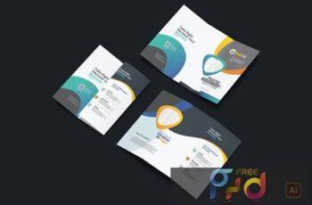 Bifold Brochure QMCMHF4 6