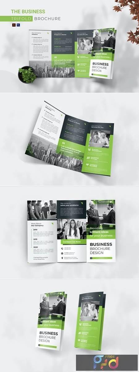 Business Trifold Brochure UJ7APY9 1