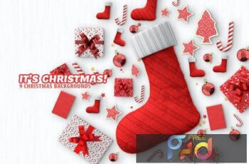 Christmas Backgrounds V5GNP7P 6